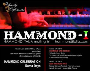 hammond al charity cafè