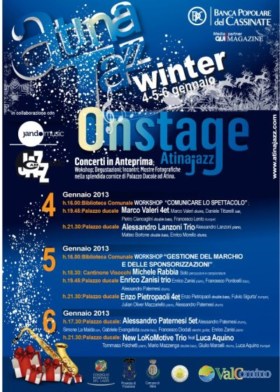 Atina Jazz Winter 2012