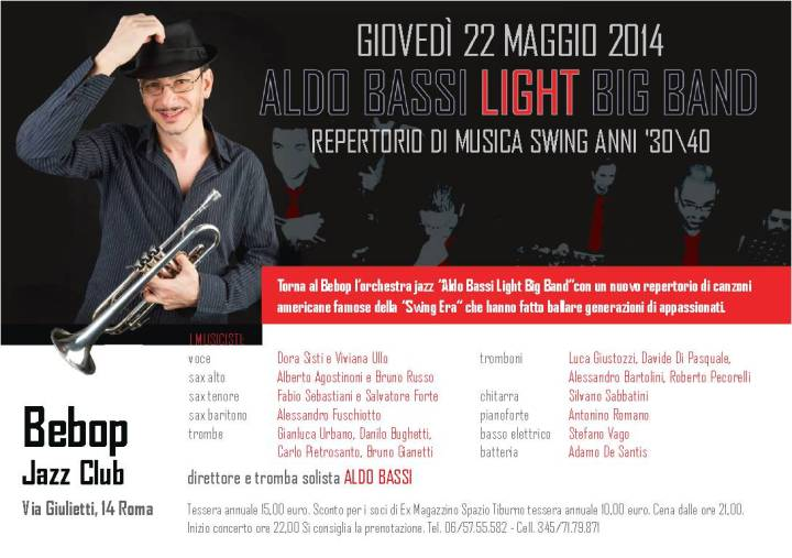 aldo bassi light big band