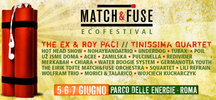 LOCANDINA MATCH AND FUSE 2014