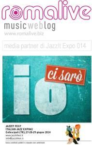 Romalive medi partner di Jazz it expo
