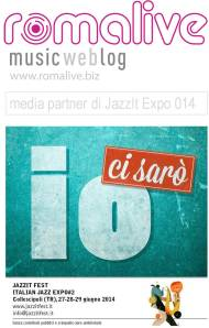 Romalive medi partner di Jazz it expo