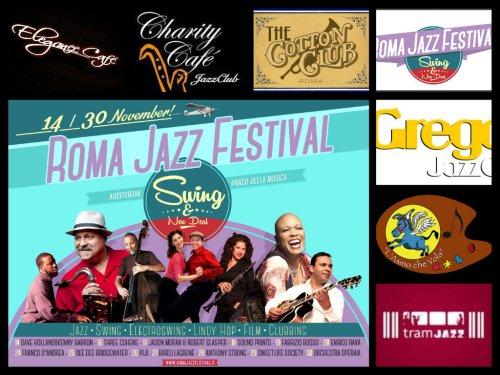 Locandina Clubs Romani Jazz