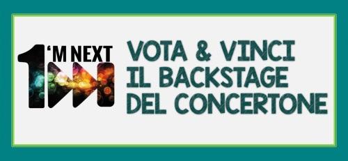 banner iscrizioni VOTA E VINCI IL BACKSTAGE