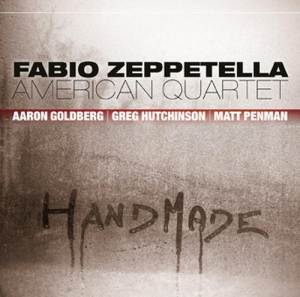 Handmade cd cover Fabio Zeppetella American Quartet